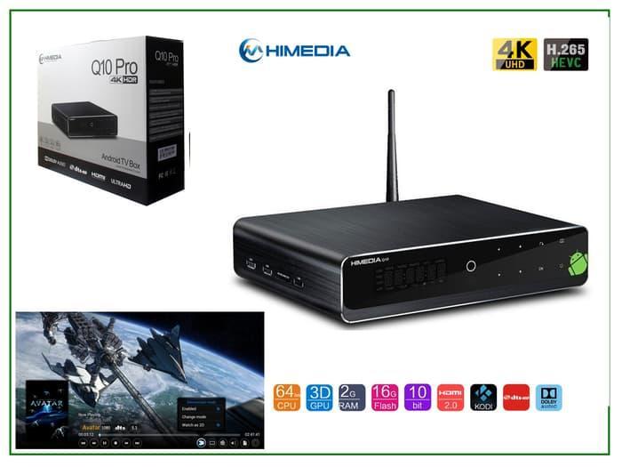 -HiMedia Q10 Pro Android TV Box Supports 4K HDR, H.265 & VP9 Video Play -READY COD - TERSEDIA JUGA - stb android tv box/tv box android/android tv box ram 4gb/set top box tv digital/smart tv box/xiaomi mi box tv