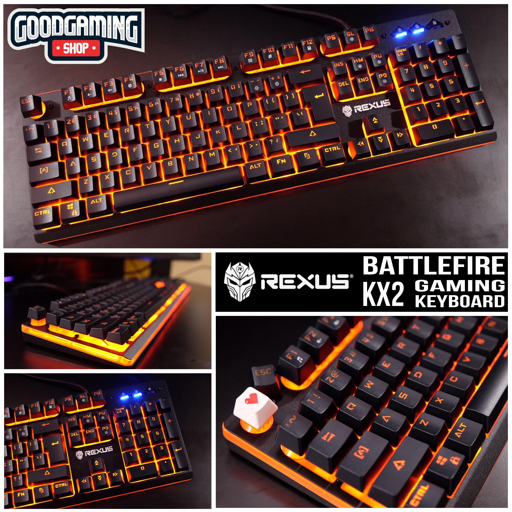 Buy Sell Cheapest Rexus K9 Battlefire Best Quality Product Deals Keyboard Gaming Fortress K9tkl Kx2