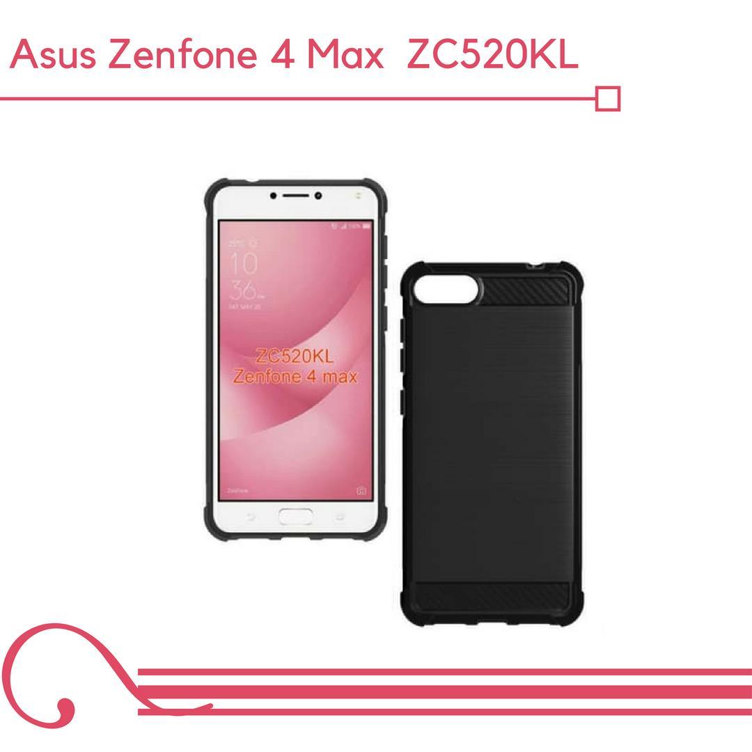 Case Asus Zenfone 4 Max 5,2inc ZC520KL Carbon Brush Soft Armor