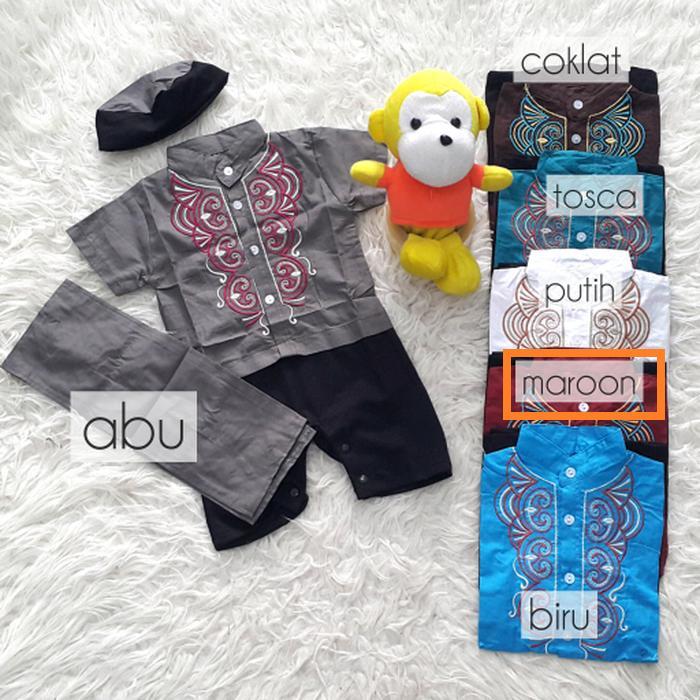 Baju Koko Bayi - Jumpsuit Koko Bayi (3-12 Bulan)