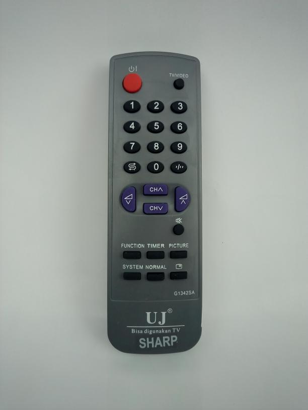 Remote Remot TV Tabung Sharp Universal