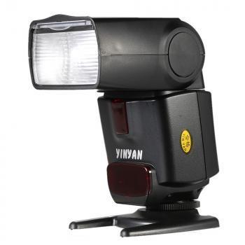 Yinyan Flash Kamera Zoom Speedlite 5600K Untuk DSLR Canon Nikon - CY-450M