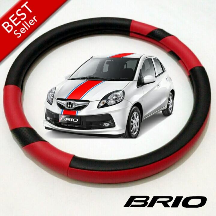 Cover Stir Sarung Setir Pelindung Mobil Honda BRIO