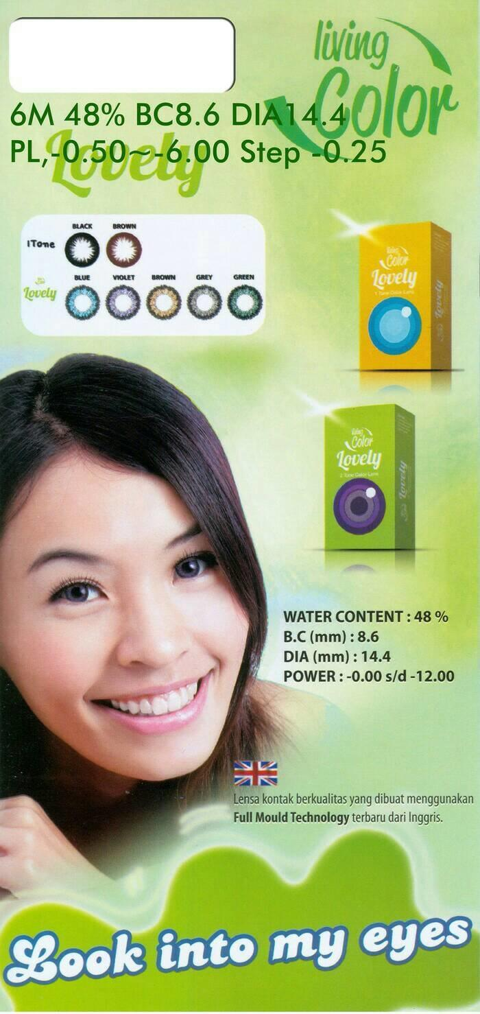 Promo - Softlens LivingColor Lovely / LC Lovely Original