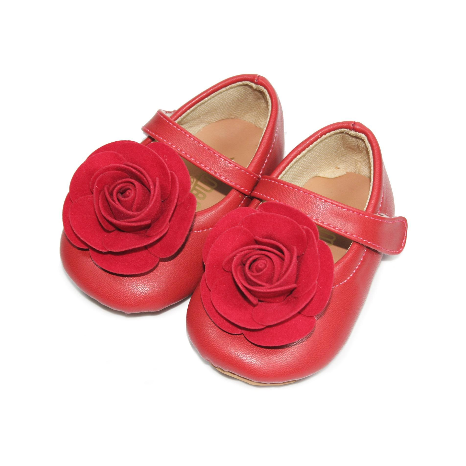 Tamagoo Sepatu Bayi Laki Baby Boy Prewalker David Blue Spec Shoes Alex Series  3 6 Bulan Abu Muda Perempuan Gwen Red Rose