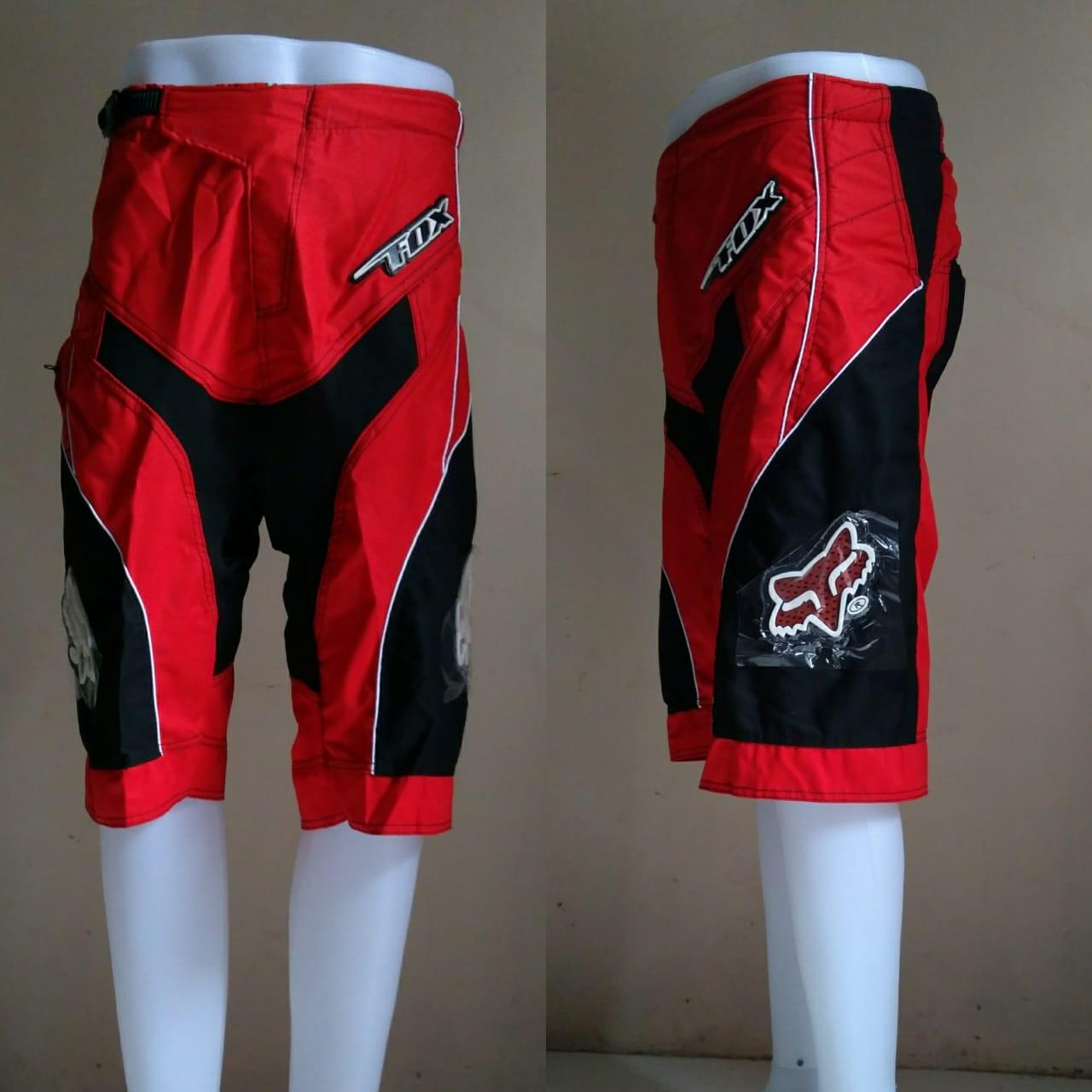 Celana Trail Jersey Sepeda Oneal Biru Merah Motor Cross Motocross Racing Pendek