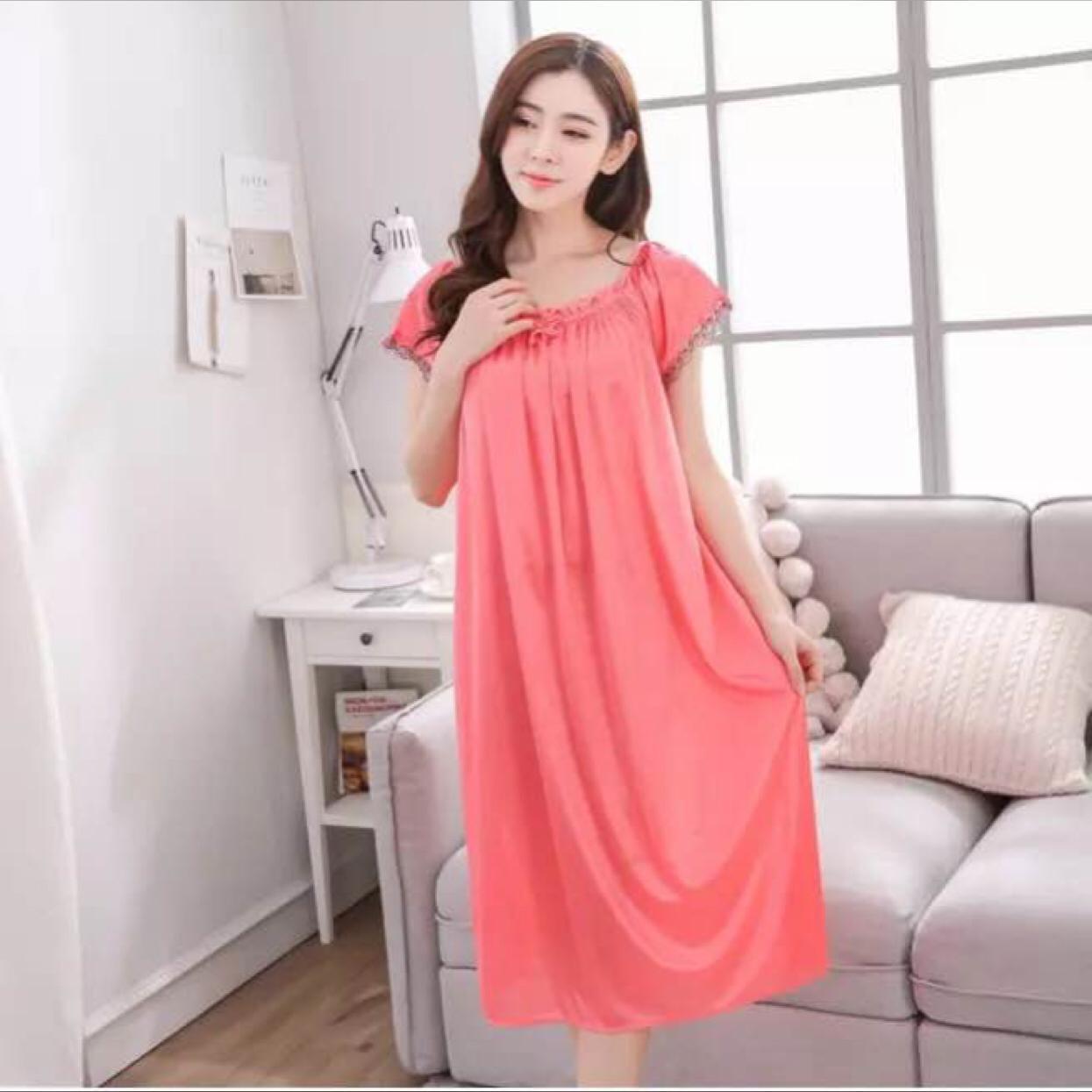 Banding Harga Daster Ukuran Xxl Murah Terbaru November 2018 Baju Tidur Piyama Jumbo Wanita 833 Besar Cantik Big Size Sleepwear