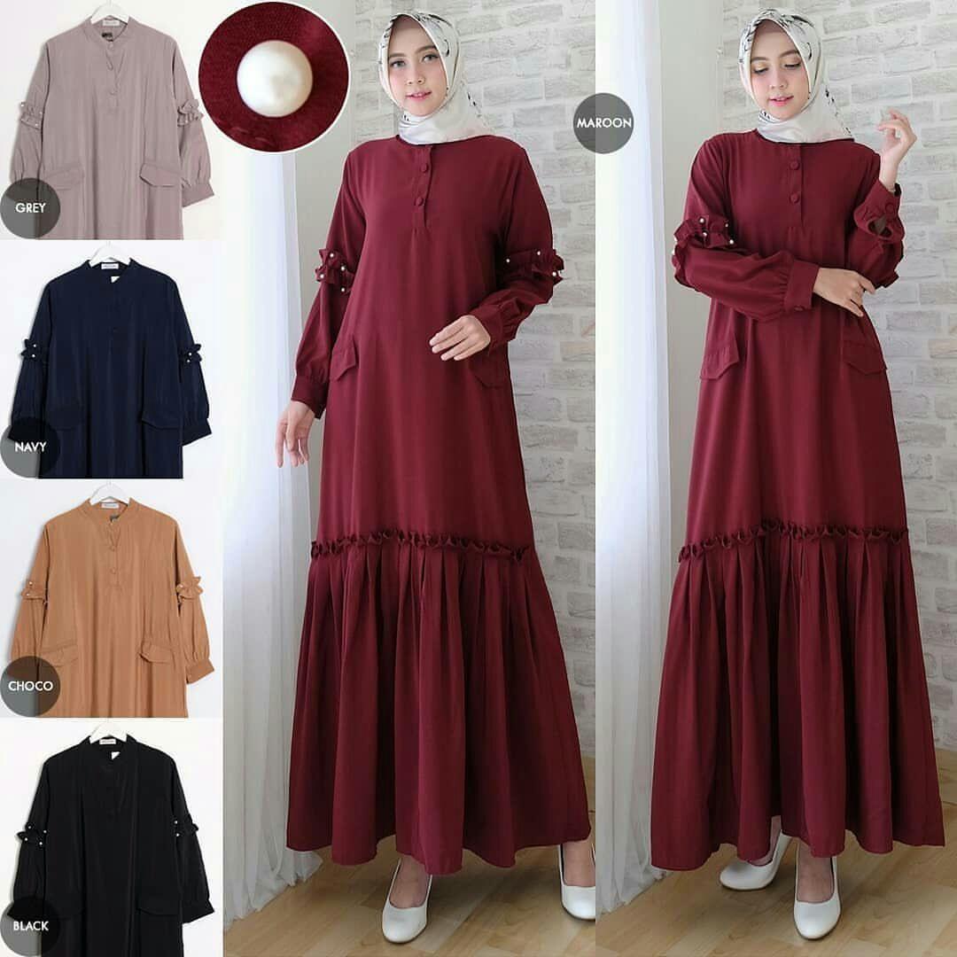 Baju Original Gamis Pyanos Maxi Balotelly Pakaian Wanita Panjang Muslim Simple Casual Fashion Baju Hijab Syar'I Modern Baju Gaun Pesta Simple Modis Trendy Baju Model Terbaru