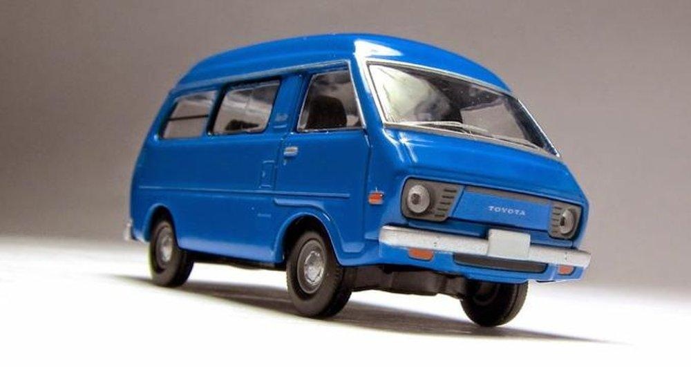 Best Seller Diecast Tomica Limited Neo LVN96b Toyota TOWNACE WAGON Tomytec Biru