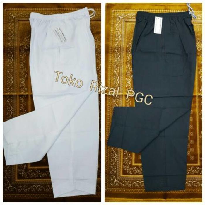 Super Sale! Celana Pangsi Panjang Putih dan Hitam Haji & Umroh | Exclusive Design