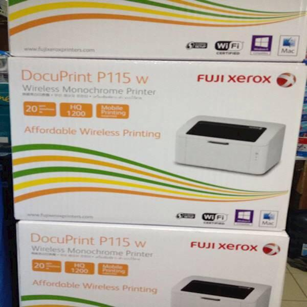 Printer Fuji Xerox Docuprint P115 W Wireless Monochrome Printer Laser
