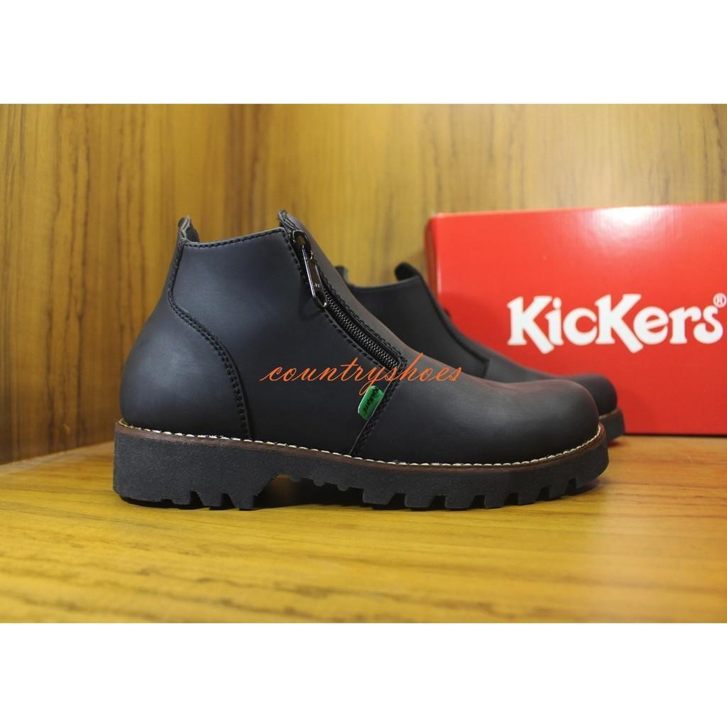 Jual Sepatu Pria Kickers Boots Safety Resleting MURAH MERIAH
