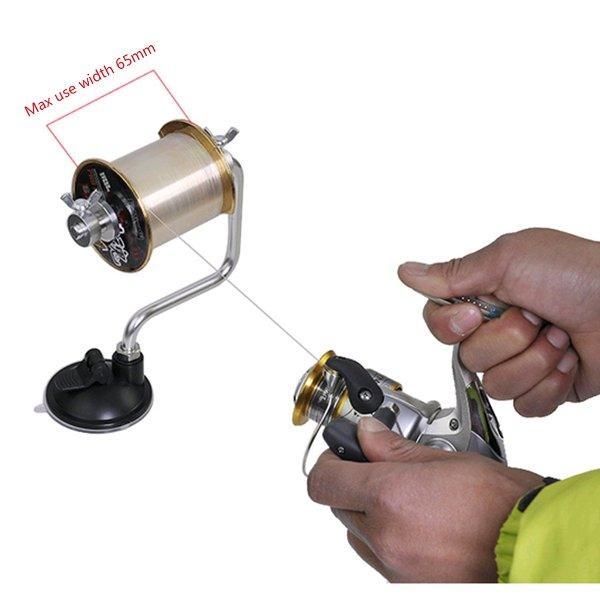 Fishing Line Winder Reel Spool Portable Alat Gulung Benang Pancing