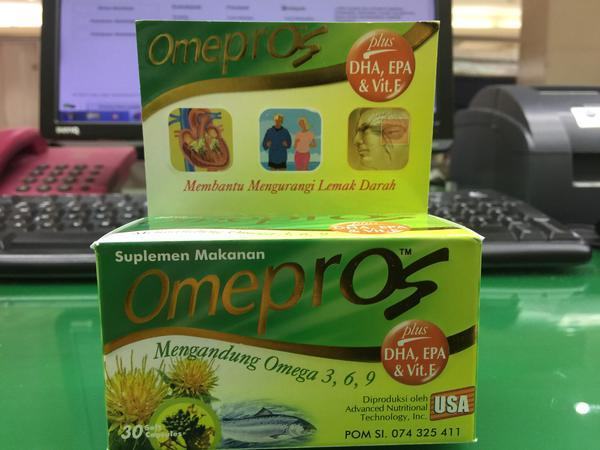 Omepros - Omega 3-6-9 Isi 30 Softgel