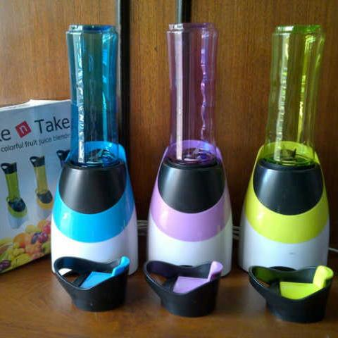 Portable Blender Shake N Take Sporty 2nd Gen - Juicer / Blender Mini Shake N Take Go Untuk Jus Buah / Susu Shaker / Sayur Desain Sport Very Good Quality