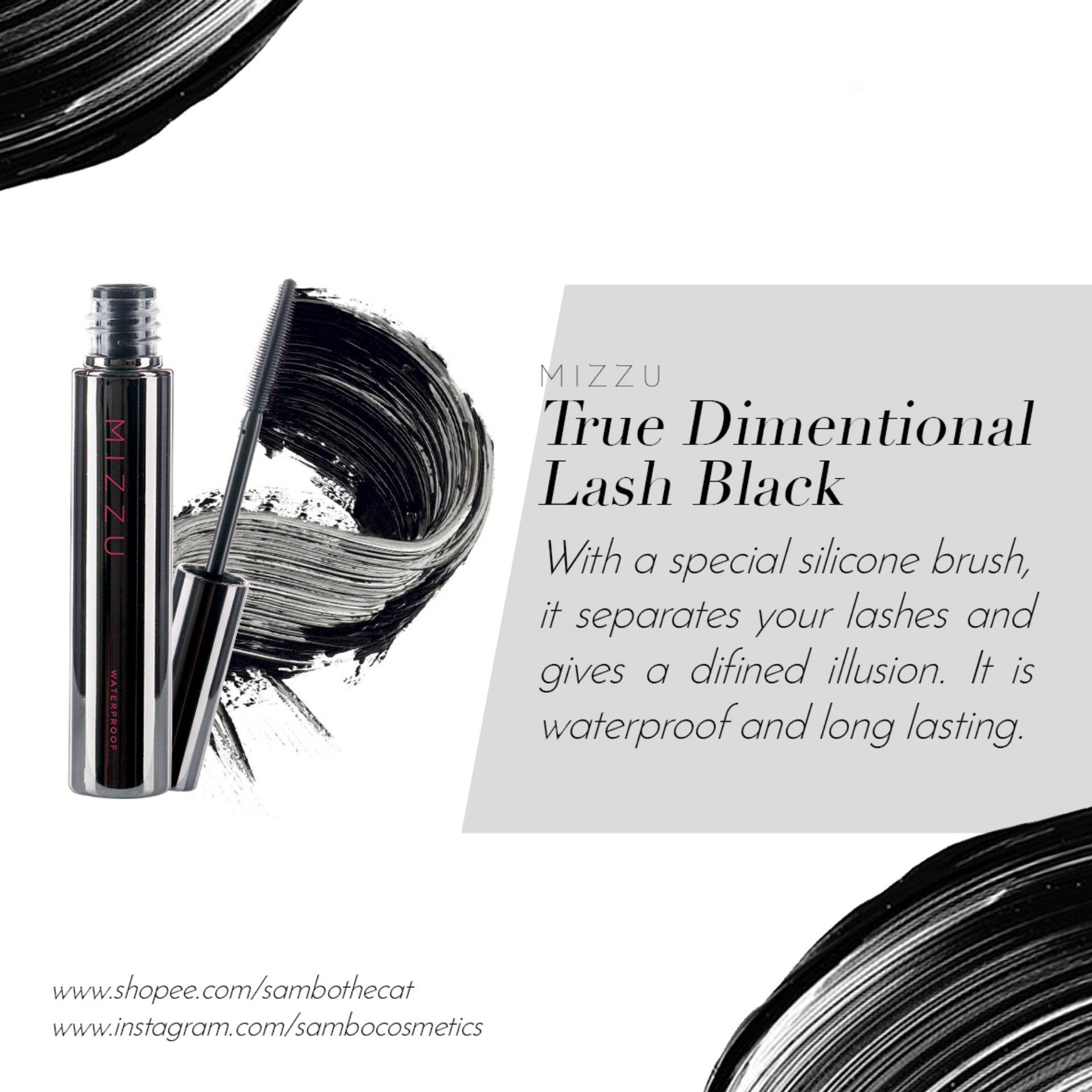 Mizzu True Dimensional Lash (Black) - Waterproof Mascara