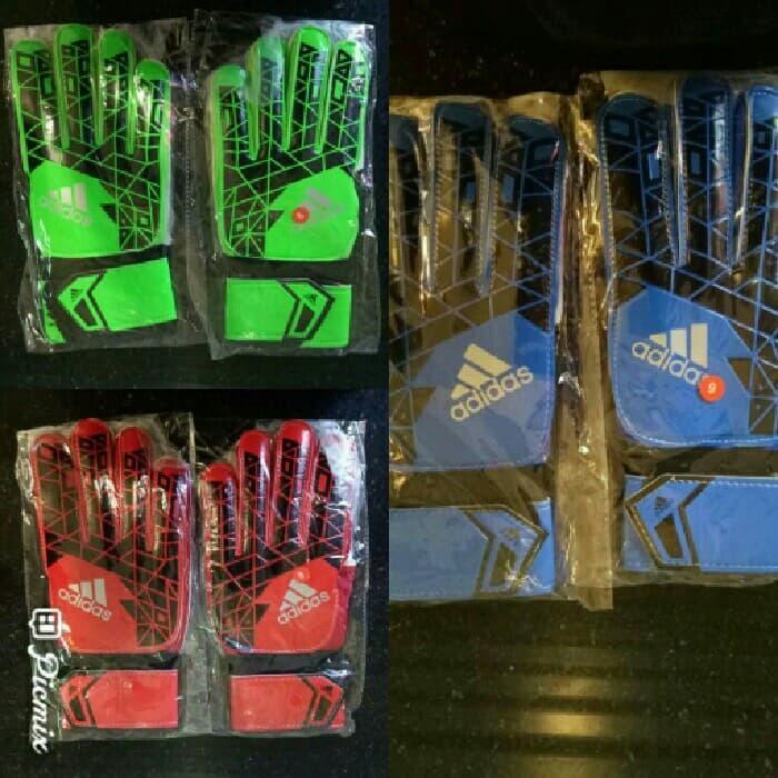 SUPER - Sarung Tangan Kiper / Gloves Adidas Predator G O Import