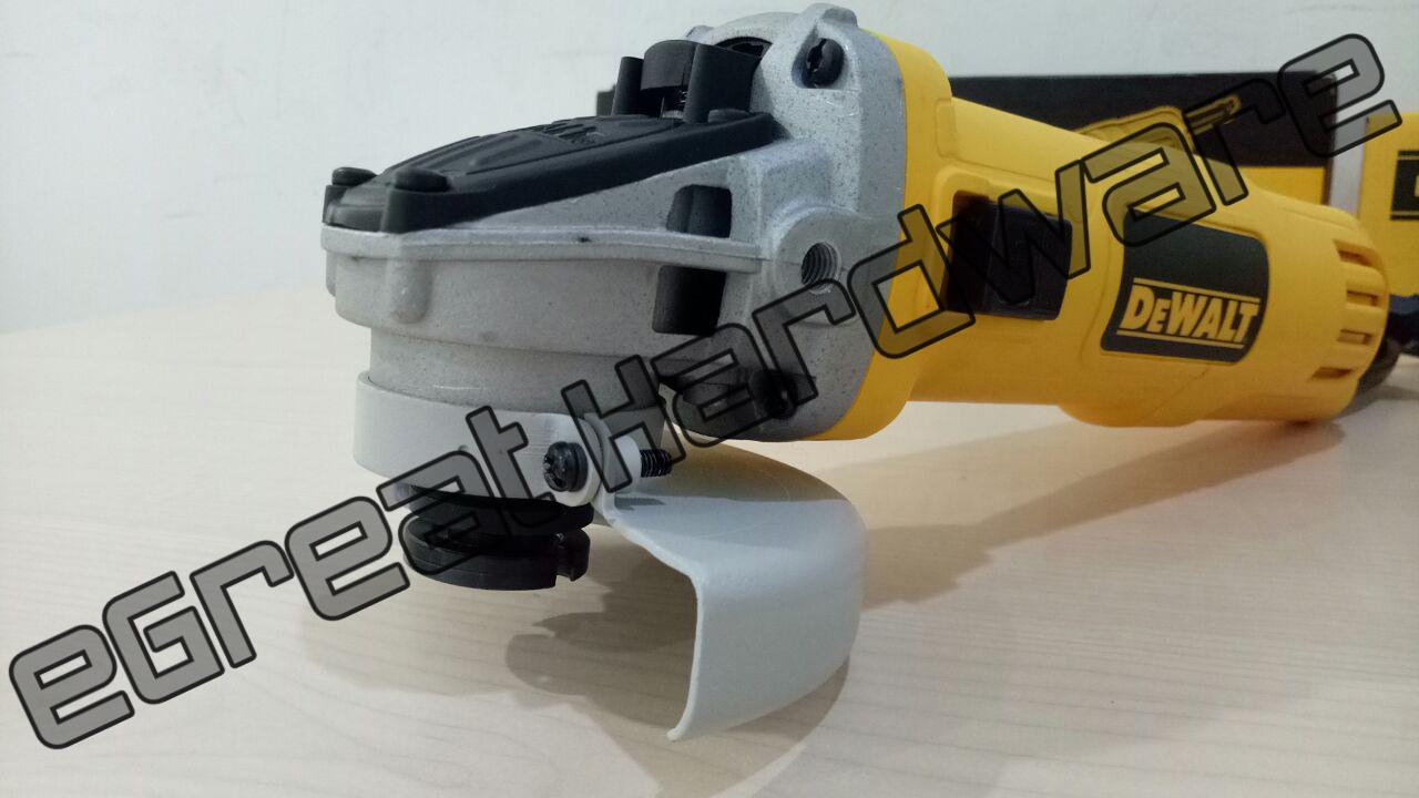 Mesin Grinder Gerinda Tukang Dewalt DWE8100S Pemotong Besi dan Amplas Kawat
