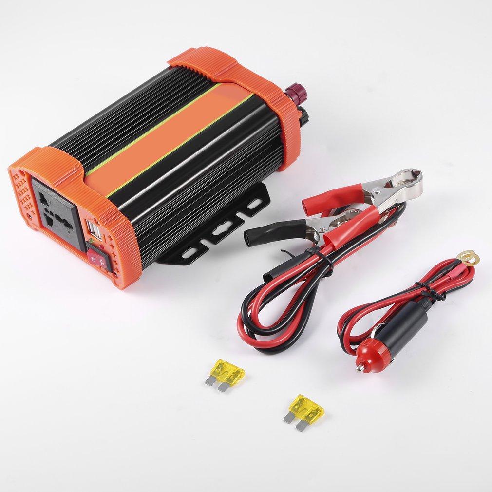 Elec P300C Mobil Pengalih Daya DC12V untuk AC220V Pengisi Baterai Yang Dimodifikasi Konverter Daya