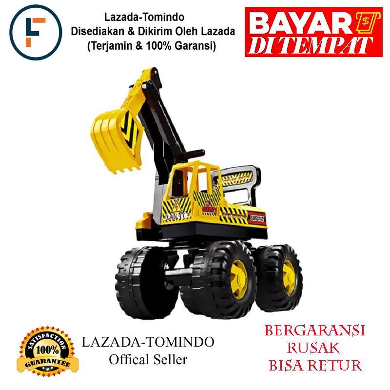 Tomindo Toys Ride On Excavator SBS 712 / mainan anak / mobil mobilan