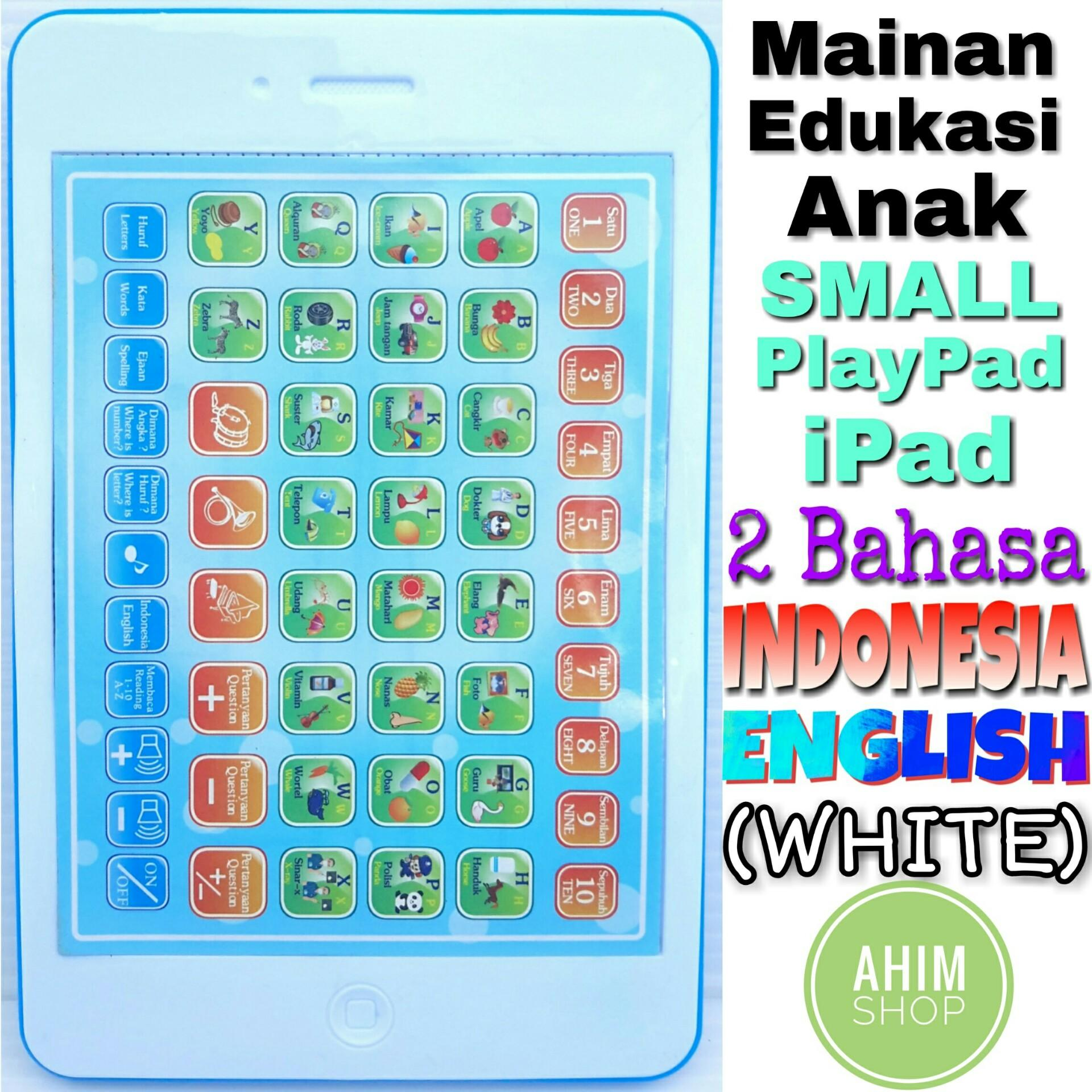 White Mainan Edukasi Anak 18 Fungsi SMALL PlayPad iPad 2 Bahasa Indonesia–