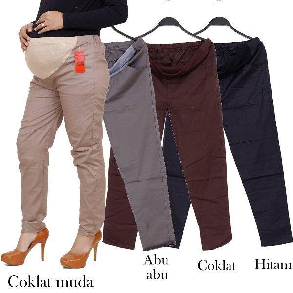 Celana hamil katun   Materna Pants Wanita kombinasi kaos 488175013f