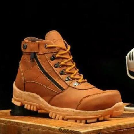 Sepatu Bengkel Maintenance / Sepatu Kerja Boots Safety Moriseyy M.o.f