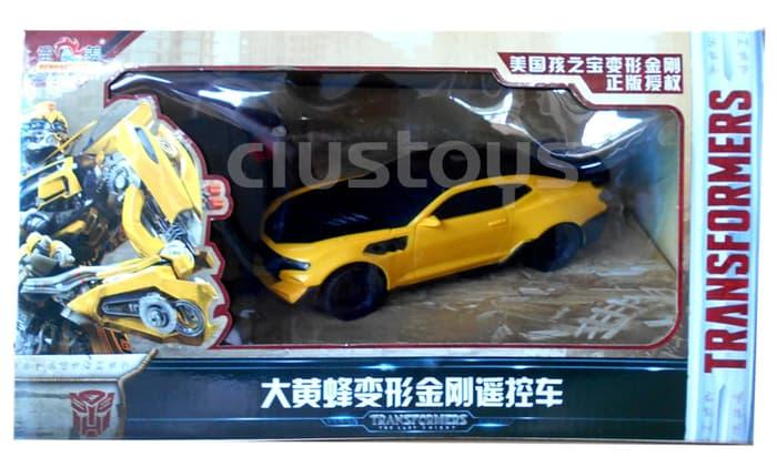 RC Mobil Transformers Bumblebee 757-B011 - Mainan Remote Control