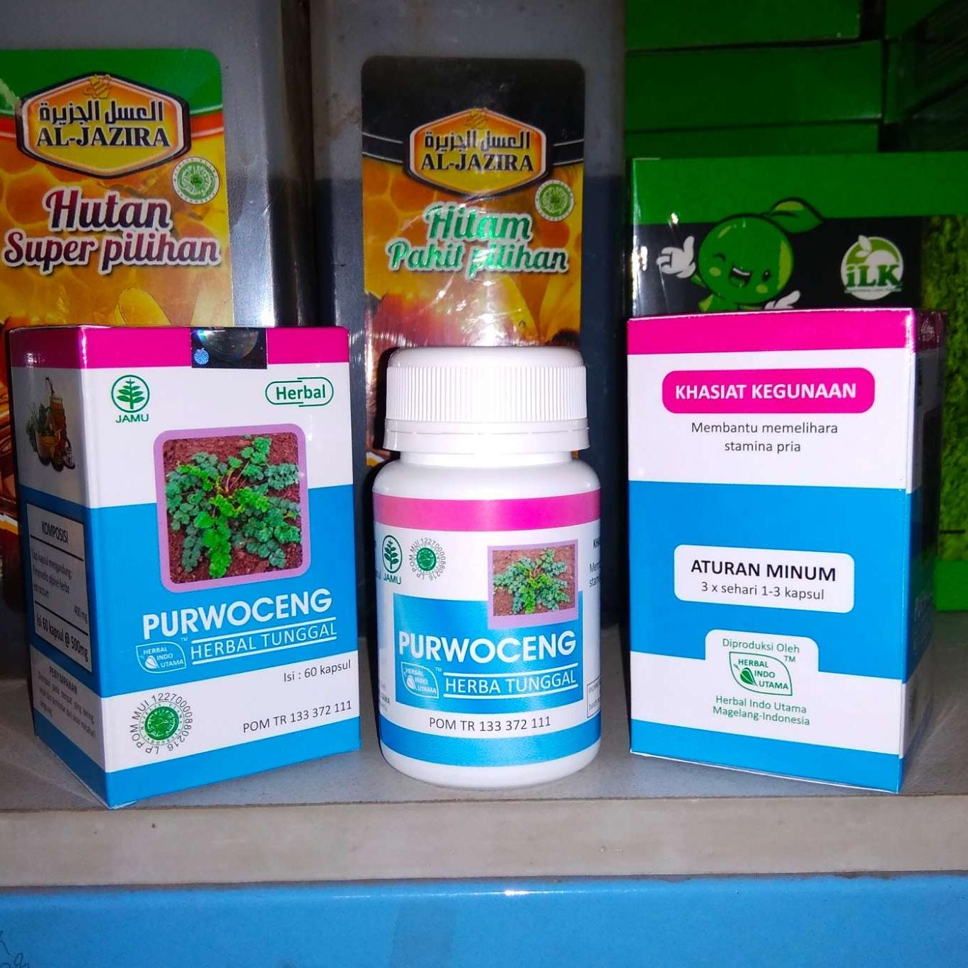 Buy Sell Cheapest Kapsul Purwoceng Isi Best Quality Product Deals Obat Kuat Herbal Plus Oles