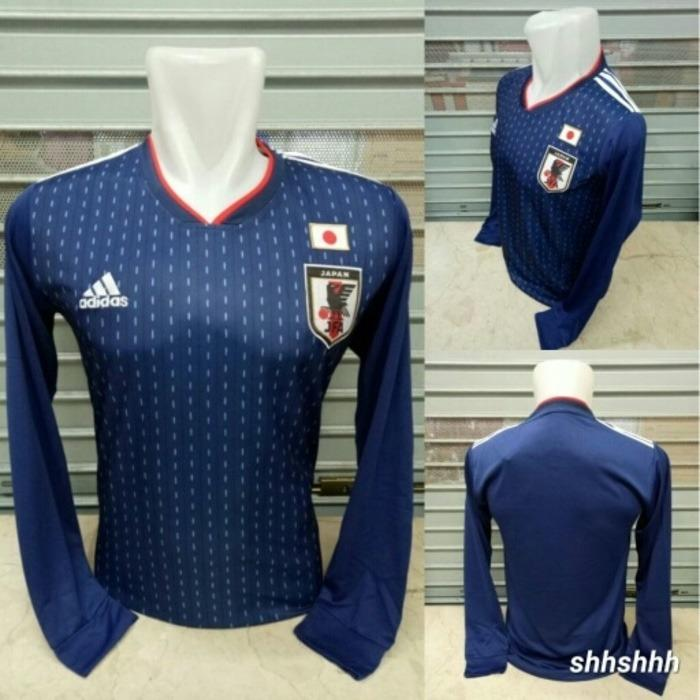 JERSEY BOLA JEPANG HOME LS LONGSLEEVE WORLD CUP 2018