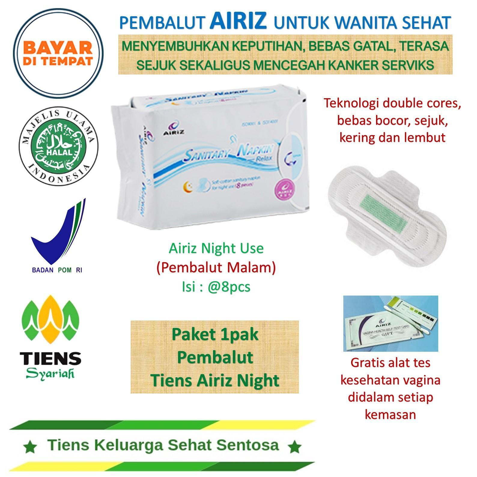 Pembalut untuk malam anti bocor dengan bahan herbal lembut bebas bahan pemutih / softex penyembuh keputihan dan bau tak sedap pada miss V / softex bahan ...