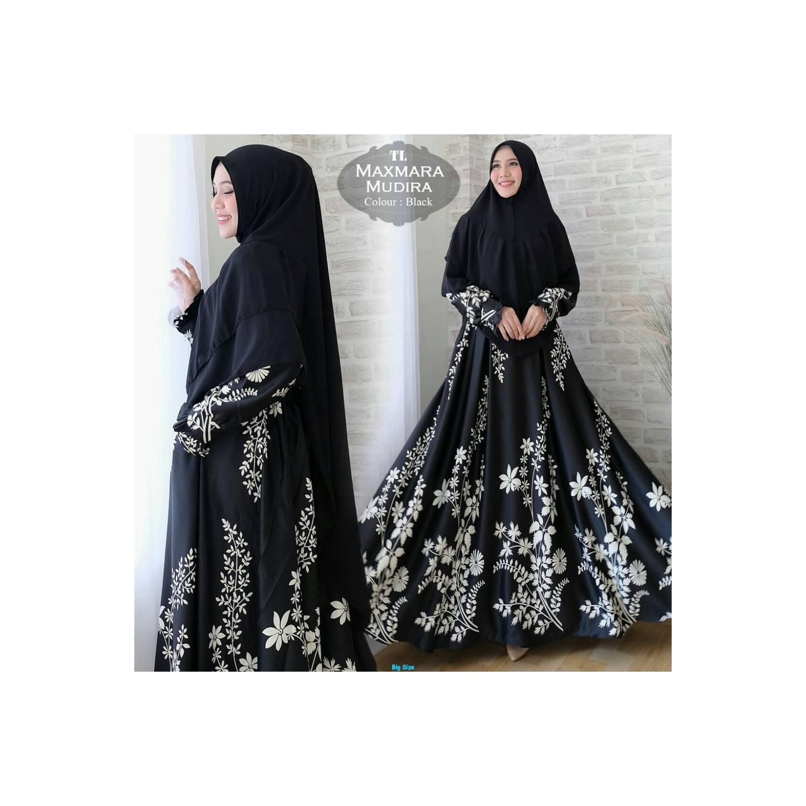 Syar'i Maxmara Mudira-Baju gamis murah-gamis wanita gemuk-Fashion-TL