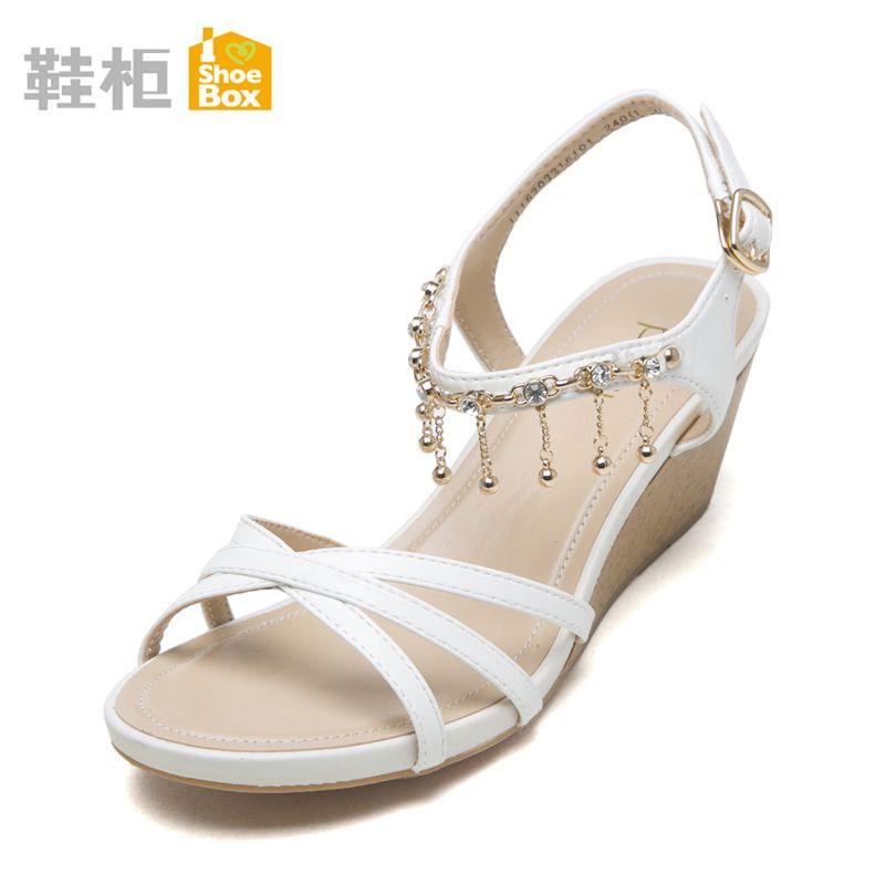 Daphne Sepatu Wanita Perhiasan Yang Berkelip-Kelip Lemari Sepatu Produk Asli Sandal Summer dengan