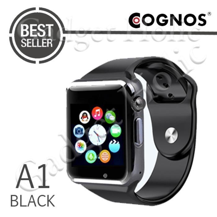 Cognos Smartwatch A1 - GSM TANPA BOX - Hitam