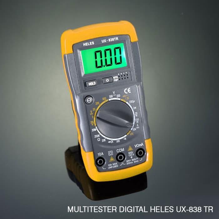Promo Multitester Digital Heles UX-838TR Original