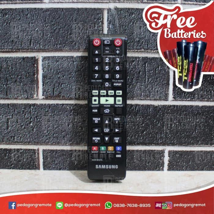 Sedang Diskon!! Remot/Remote Bd Dvd Hometheater Samsung Blu-Ray Ak59-00167A Original - ready stock