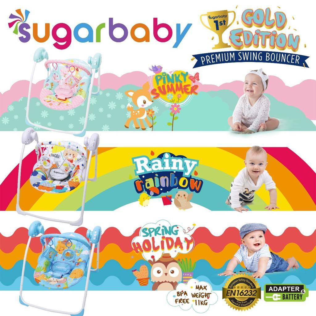 Sugar Baby - Premium Baby Swing By Rain Baby Store.