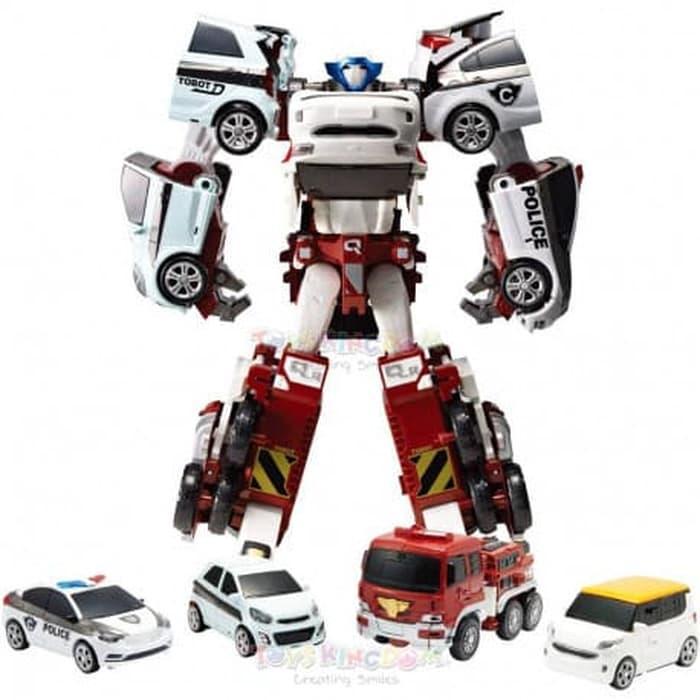Mainan Anak Robot Tobot Quatran Terbaru
