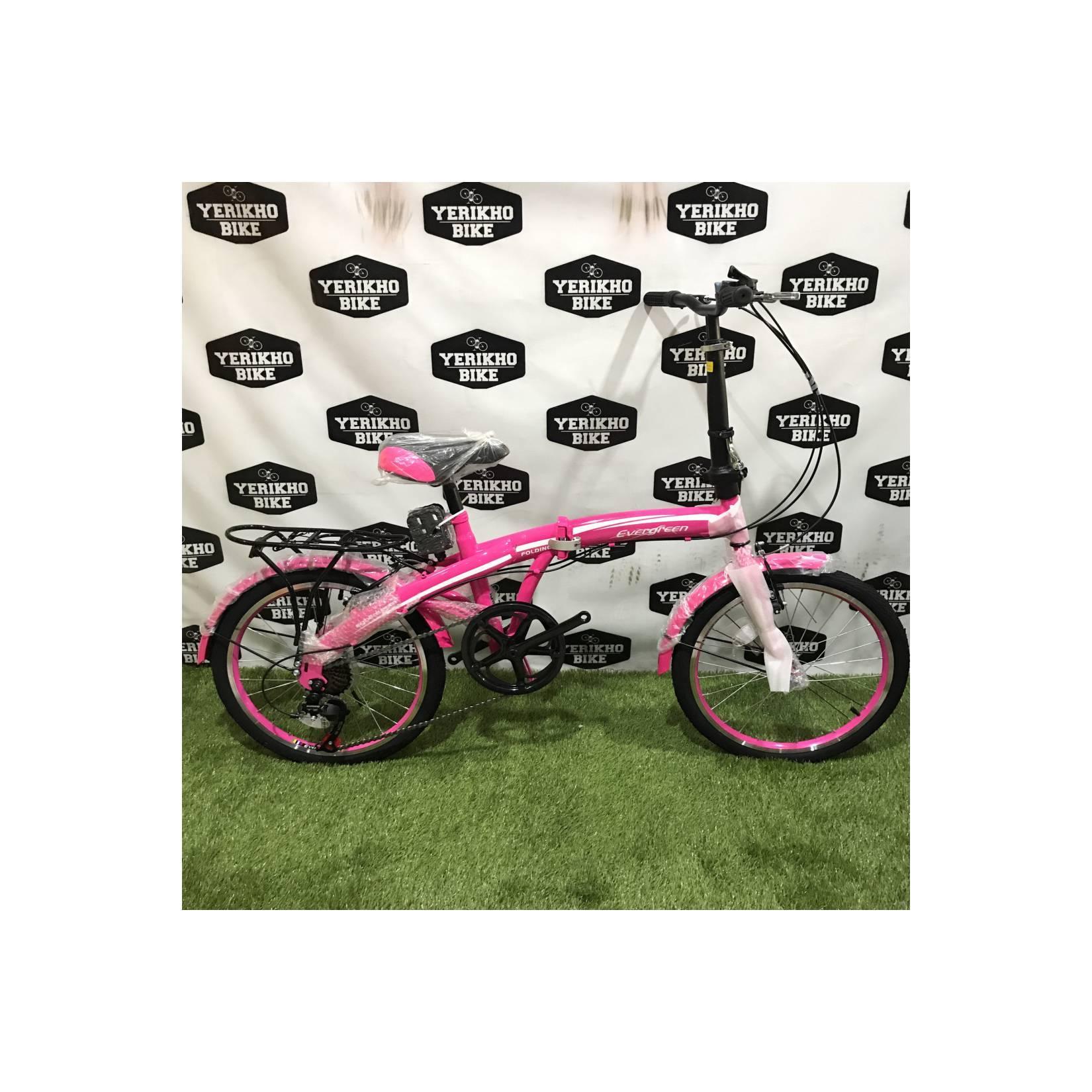 Sepeda Lipat / Folding Bike 20 Evergreen 120-8