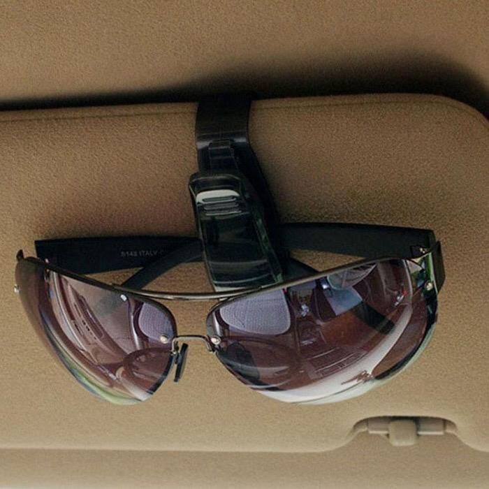 Penjepit Kacamata Mobil Sun Visor - Penjepit Multi Fungsi Karcis, dll