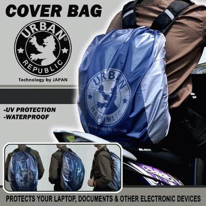 HARGA PROMO!!! Raincoat Cover Bag Backpack Tas URBAN 30L ( cover tas ) - 86fNBn
