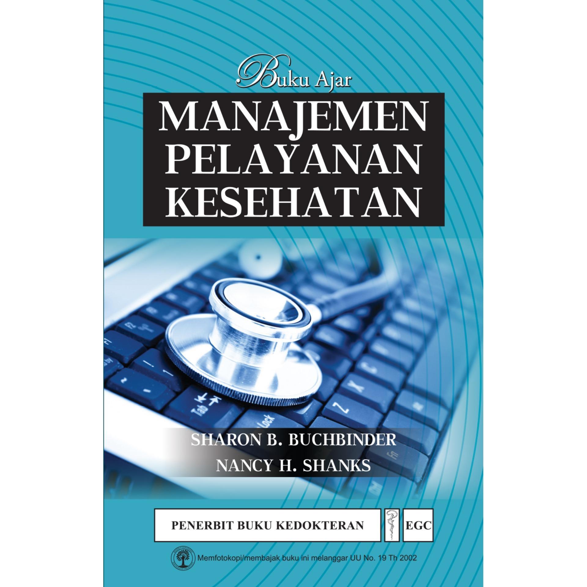 Buku Ajar Manajemen Pelayanan Kesehatan
