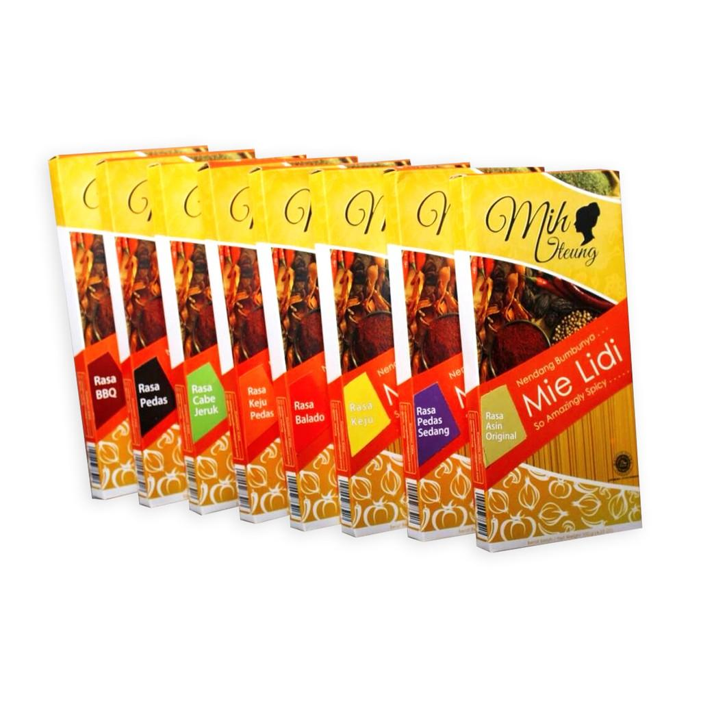 Mih Iteung Pedas Cemilan Mie Lidi Biting Paket 3pcs X 100gr Daftar Osyin Jagung Bakar 140gr