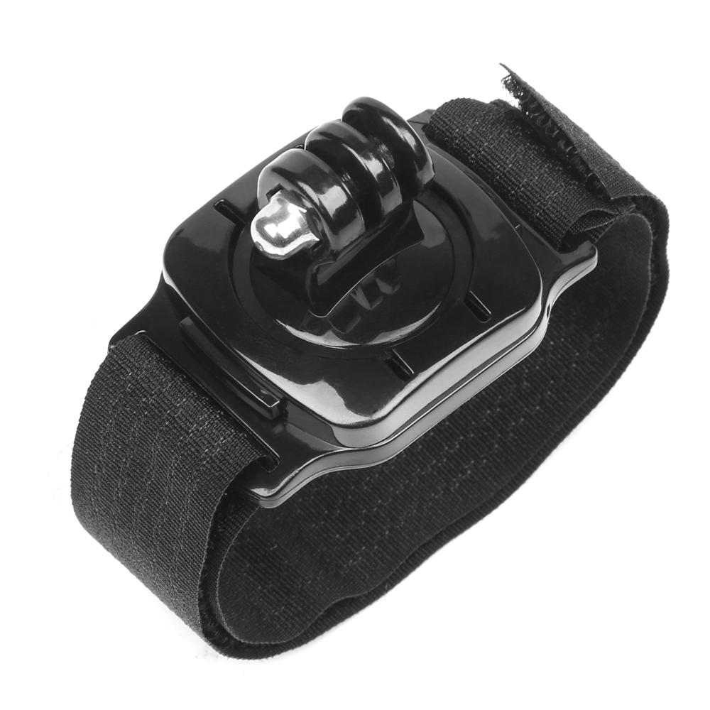 360 Derajat Rotasi Kamera Wrist Strap Mount untuk Gopro Hero 6 5 3 4 Sesi Xiaomi Yi 4 K SJCAM Eken Aksi Kamera Aksesori