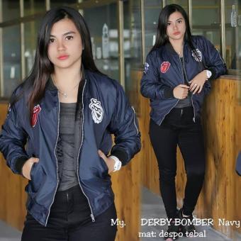 0c0c90fd5eb3 Pencarian Termurah Derby Bomber Fashion - Jaket Bomber Wanita harga  penawaran - Hanya Rp53.430