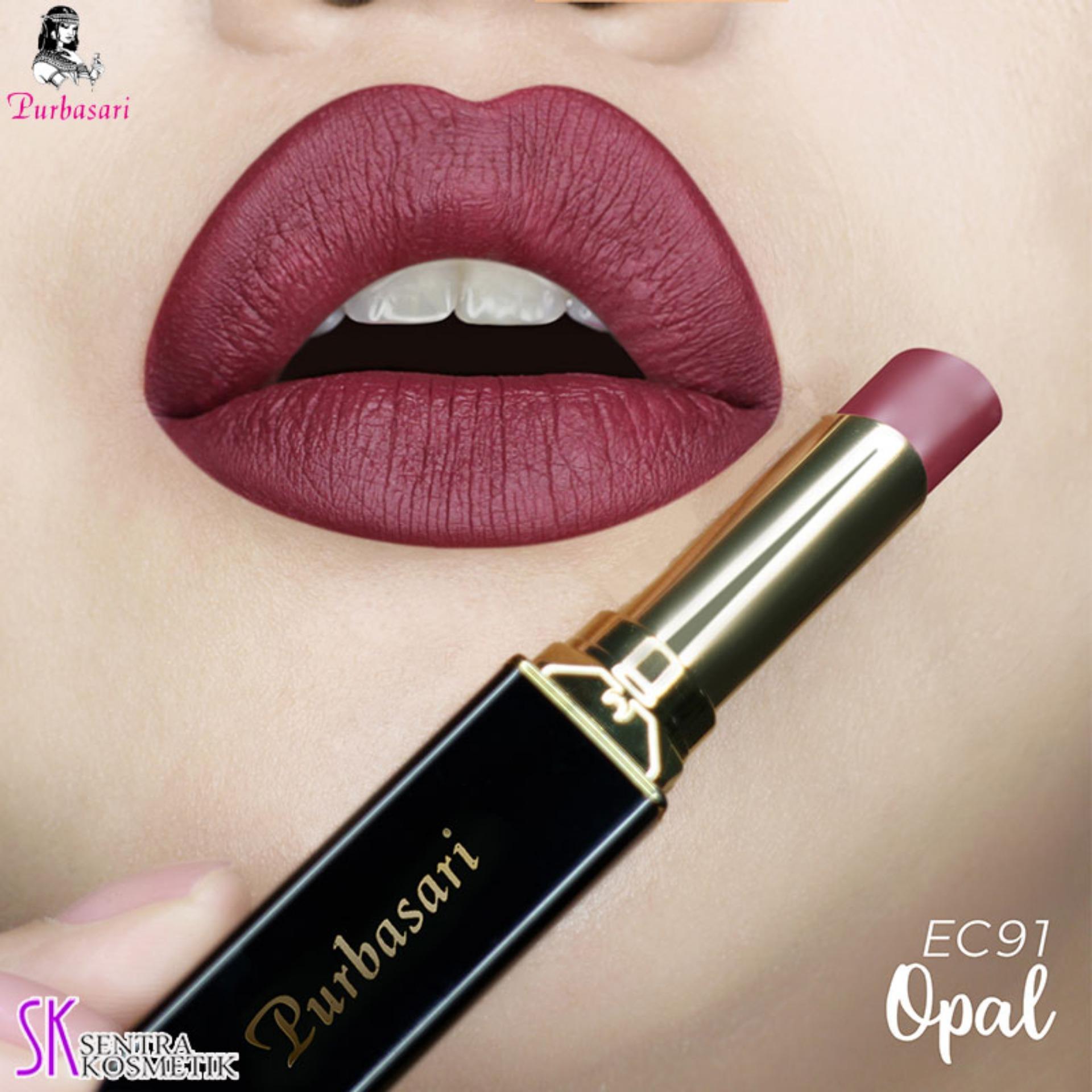 Purbasari Lipstick Collor Matte 91 OPAL