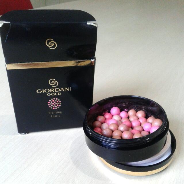 Blush On Giordani Gold Bronzing Pearls
