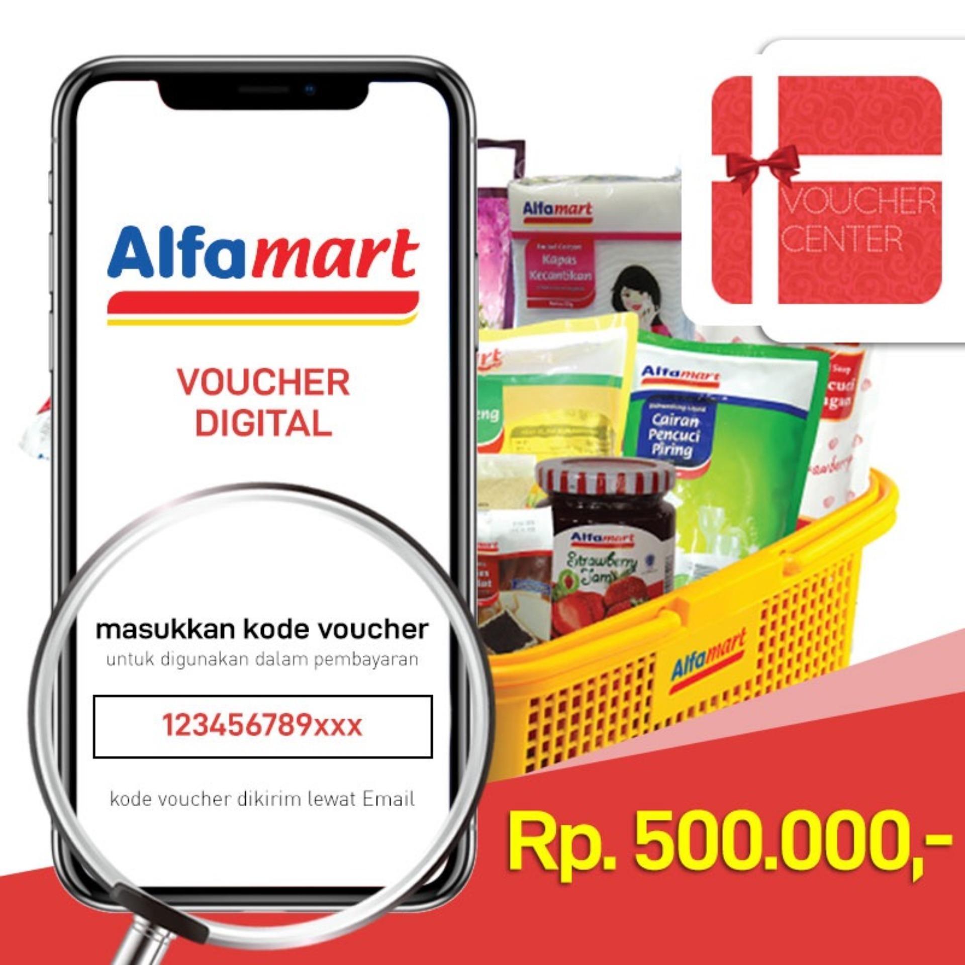 Voucher Alfamart Rp 500.000 - Digital Code