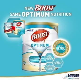 Nutren Boost Optimum 800 Gr By Mama Raja Susu.
