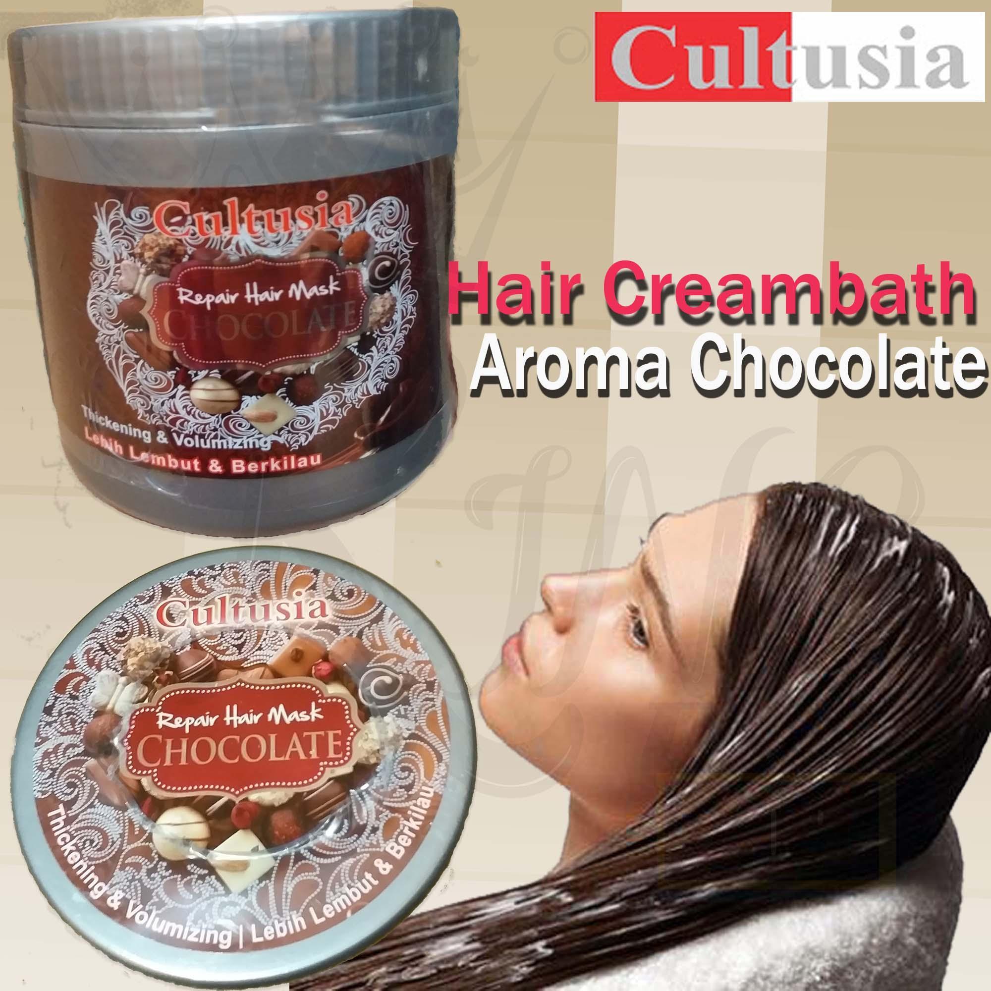 Cultusia Hairmask Chocolate 1000ml Daftar Update Harga Terbaru Dan Hair Mask Fruit 25ml 405060 Creambath 500ml Aroma Cocoa